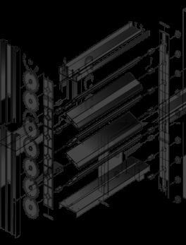 Комплектующие для производства воздушных клапанов КВА